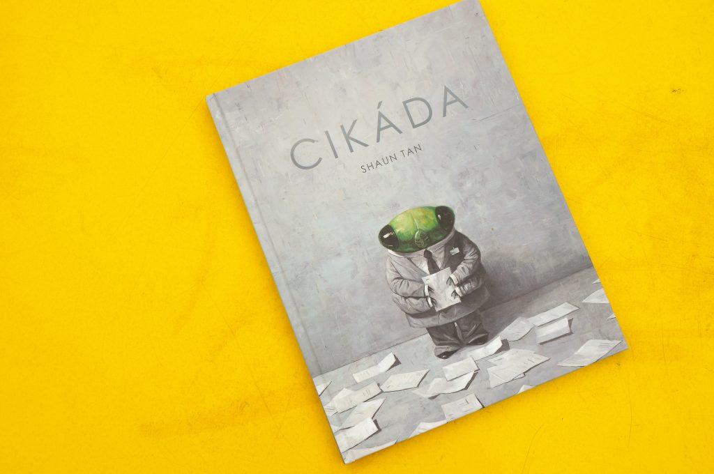 Shaun Tan Cikáda odetskychknihach.sk