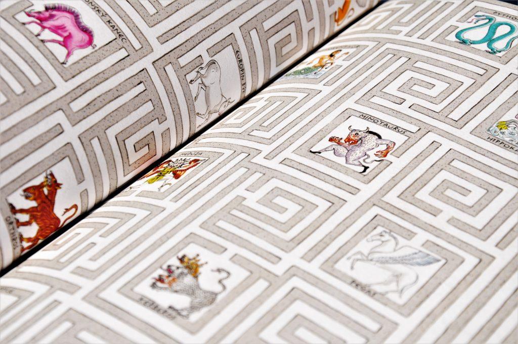grécke báje - labyrint