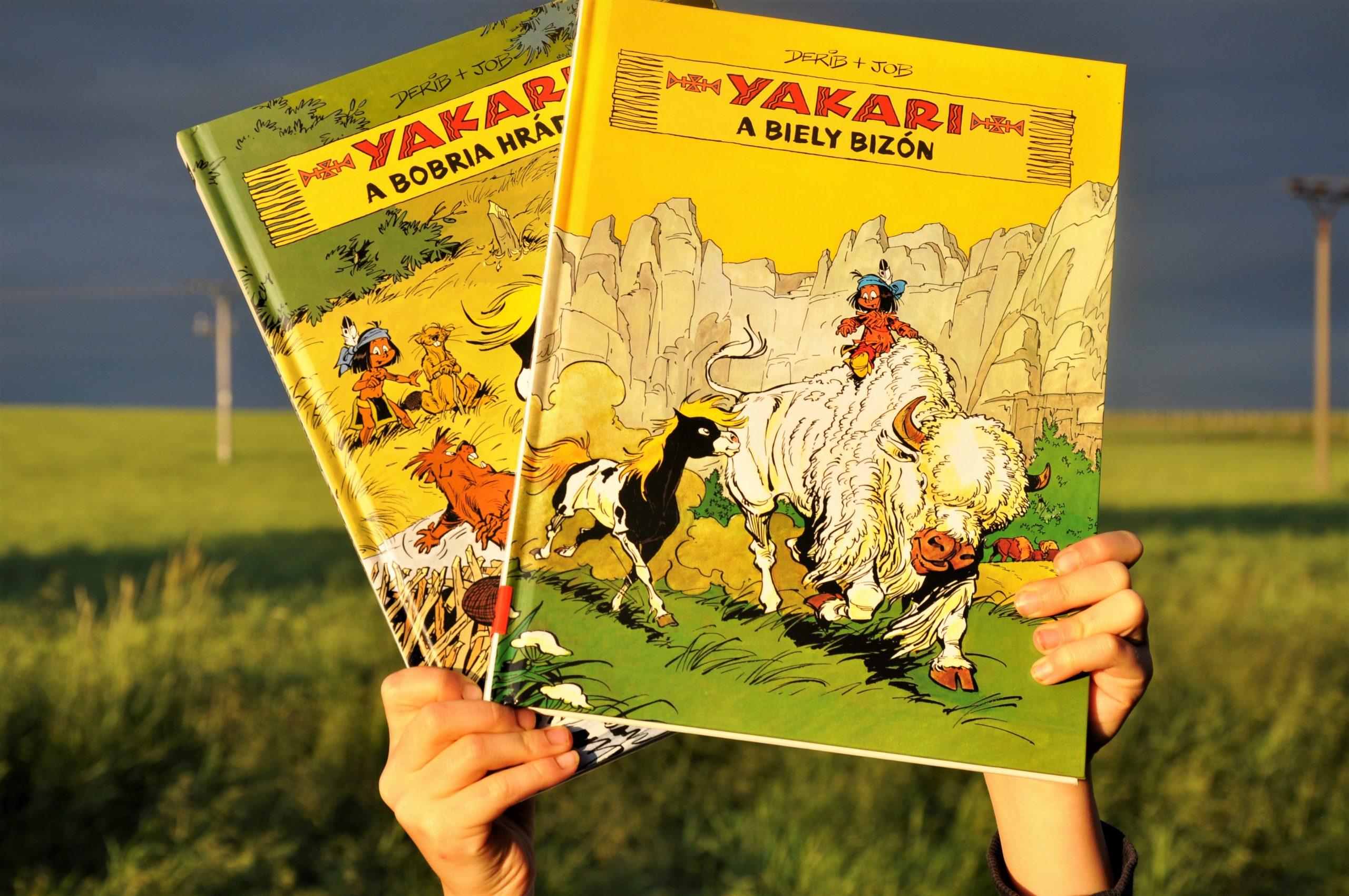 komiks Yakari 2. a 3. časť