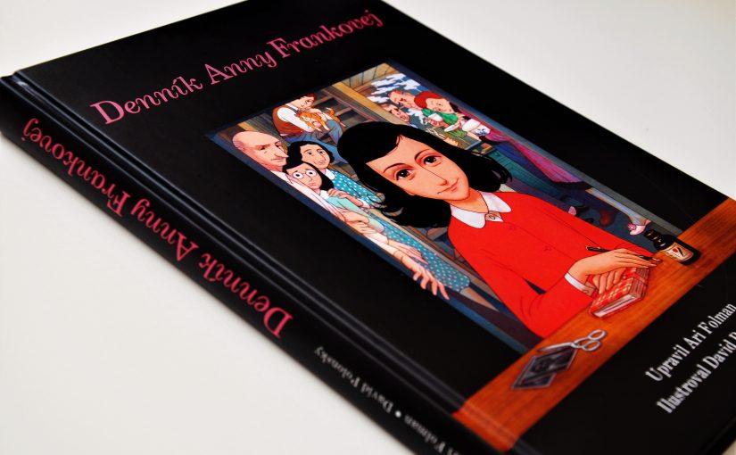 DENNÍK ANNY FRANKOVEJ. KOMIKS (Ari Folman, David Polonsky) – recenzia